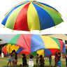 Kids Children Play Rainbow Parachute Outdoor Game Family Exercise Sport Toy Gift