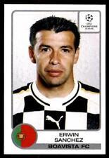 Panini Champions League 2001-2002 Erwin Sanchez Boavista No. 48