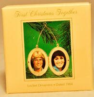 Hallmark: First Christmas Together - Locket - 1984 - Holiday Ornament