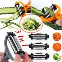 Multifunctional Rotary Vegetable Fruit Peeler Potato Carrot Grater Cutter Slicer