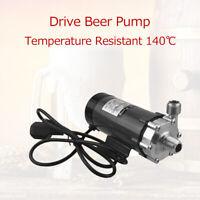 High Temp Brewing Beer Pump Stainless Steel Homebrew Temperature Resistant 140℃