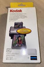 Kodak EasyShare PH-40 Colour Cartridge Photo Paper Kit New & Sealed Boxed
