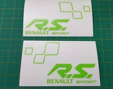 Renault Clio Megane Sport RS stickers decals graphics r27 trophy cup 276