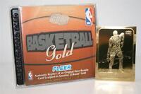 KARL MALONE 1986-87 Fleer ROOKIE 23KT Gold Card BLACK SIGNATURE INSERT
