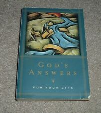 1999 GOD'S ANSWERS FOR YOUR LIFE King James Bible Verses