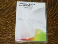 ADOBE CREATIVE SUITE 3 WEB STANDARD EDITION RETAIL FOR WINDOWS W/ SERIAL NUMBER