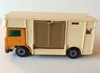 1977 Vintage Loose Matchbox Superfast Green No. 40 Horse-Box