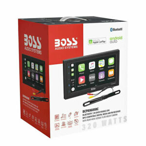 BOSS BCPA9685RC 6.5 CARPLAY ANDROID CAR STEREO MULTIMEDIA BLUETOOTH REAR CAMERA