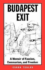 BUDAPEST EXIT - NEW PAPERBACK BOOK