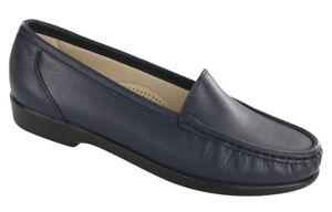 SAS Simplify Navy Women's Shoes Many Sizes & Widths New In Box