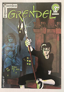 Grendel #1 - Signed And Remarqued By Matt Wagner - Comico
