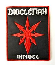 DIOCLETIAN ( infidel ) EMBROIDERED  PATCH