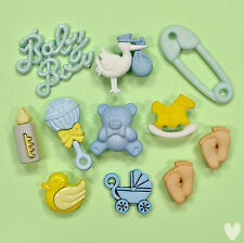 BUTTONS GALORE Baby Boy 4423 - New Baby Shower Emabellishments Dress It Up