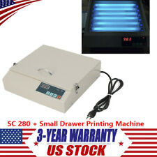 50W Precise UV Exposure Unit Screen Drawer Printing Machine w/ SC 280 UPS