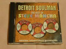 Detroit Soulman: The Best of Steve Mancha    [ CD, May-2000 ]