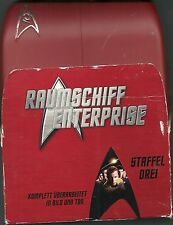 Star Trek Raumschiff Enterprise Classic 3 7 DVD`s Hartbox Deutsche Ausgabe Rar