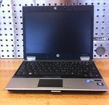 "Laptop HP Elitebook 2540p Core i7 12.1"" 640LM 2.13GHz CPU 4GB RAM used"