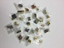RARE WALMART LAPEL PIN WAL-MART PINBACK SMILEY LOT OF 30