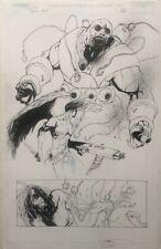 Ashley Wood Spawn Original Comic Art
