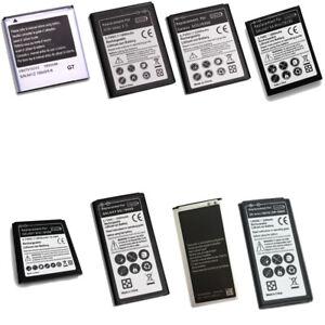 Akku für Samsung Modelle S1 - S10 Note Mega TAB Mini xCover Y J5 A3 A5 A7 J1 etc