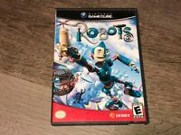 Robots Nintendo Gamecube Complete CIB Authentic