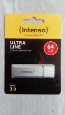 INTENSO USB STICK ULTRA LINE  3.0 Speicherstick 64GB NEU OVP