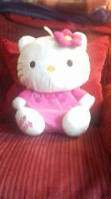 "hello kitty hot water bottle cover/nightdress case,good condition,14"" approx"