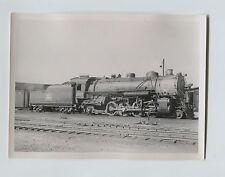 1939 5x7 Rock Island Railroad Steam Engine 2655 2-8-2 Photo Council Bluffs Iowa
