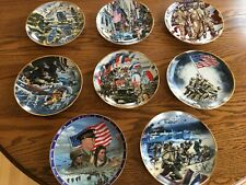 Franklin Mint Heirloom / Friends of Vietnam Collector Plates / (Lot of 8)