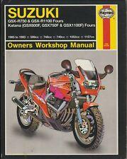Suzuki Gsx-R750, Gsx-R1100, GSX600F, GSX750F, GSX1100F (Kantana) Fours by Alan A
