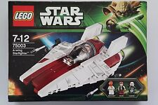 Lego Star Wars 75003-a-Wing Starfighter OVP leer, por favor!