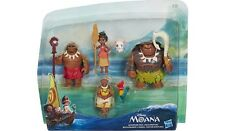 Disney 6 Figure Doll Set Moana Adventure Playset Maui Hei Hei Pua Grandma BNIB