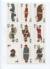 DAS GUTENBERG BLATT designs by ROLAND GOULSBRA 1999 playing cards