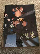 Vintage WWF RIKISHI FATU Wrestling Pinup Photo WWE RARE
