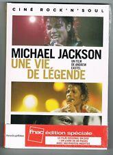 MICHAEL JACKSON - UNE VIE DE LÉGENDE - FILM + LIVRE -  NEUF NEW NEU