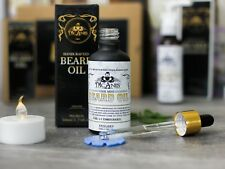 Best Beard Oil Grow Your Beard Faster & Cover Patches  With African Castor Oil