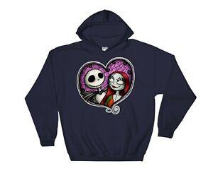 Nightmare Before Christmas Hoodie Novelty Cool Sweatshirt Jumper Pullover 2488