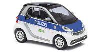 Busch 46209 H0 Smart Fortwo 2012 »Polizei Sachsen« NEUHEIT 2015 OVP/