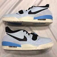 Nike Air Jordan Legacy 312 Low Pale Blue Shoes UNC CD7069-400 Men's Size 13