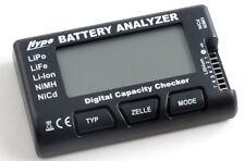 Comprobador de baterías LiPo / LiFe / NiMh / NiCd Cellmeter 7