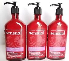 Bath and & Body Works x3 Aromatherapy Sensual Black Currant Vanilla Body Lotion