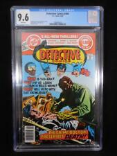 Detective Comics #494    CGC 9.6    White Pages    Jim Aparo Cover