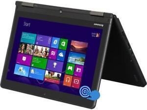 "Lenovo Yoga ThinkPad Laptop/Tablet 2-in-1 12.5"" Core i5 8GB Ram 128GB SSD Win 10"