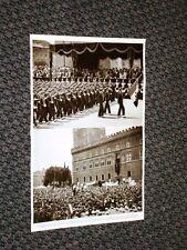 Roma nel 1937 Fascismo per il I Annuale Impero Accademia navale aeronautica Duce