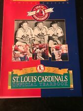 1992 St. Louis Cardinals Official Yearbook 100th Anniversary