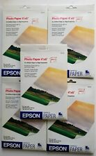 Epson Glossy Photo Paper Borderless 92 Sheets 4 x 6 Inches S041458 New Sealed