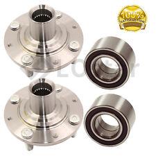 Pair(2) Front Wheel Hub & Bearing Assembly Fits 92-00 Honda Civic/ Del Sol 94-97