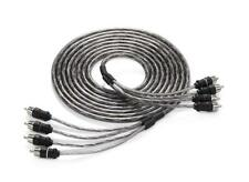 NEW JL AUDIO XD-CLRAIC4-18 4 Channel 18ft Amp Audio Interconnect Cable RCA
