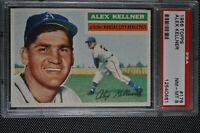 1956 Topps - Alex Kellner - #176 - PSA 8 - NM-MT