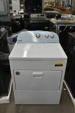 """Whirlpool Wed4950Hw 29"""" White Front Load Electric Dryer Nob #115102"""